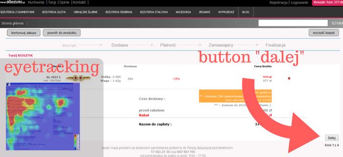Allezłoto - button finalizacji