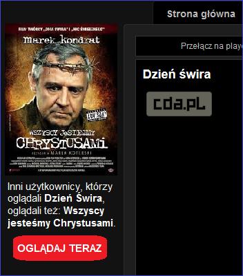 Filmy tylko dla CDA Premium - ALTERNATYWA
