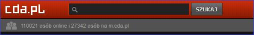 Status użytkowników na CDA.pl