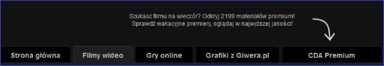 Karta premium na CDA.pl