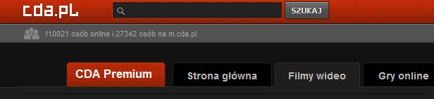 Prawidłowa karta premium na CDA.pl