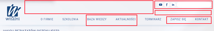 Witalni.pl - szum komunikacyjny i zbędne elementy