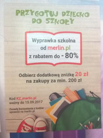 Merlin.pl - wysokie kody rabatowe